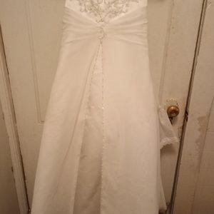 David's Bridal Flower Girl/Communion Dress